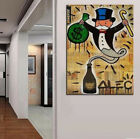 Alec Monopoly Bansky Oil Painting on Canvas Graffiti art Money Genie No Frame 36