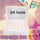 Cupcake Box Range 1 hole 2 hole 4 hole 6 hole 12 / 24 hole Window Face Party HOT