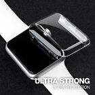 Apple Watch Clear Thin Hard Case Cover Screen Protector 38mm 42mm Series 1 2 3