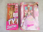 Lot of two Barbie Rapunzel and Super Hair New in Box Vintage