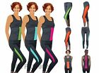 Sport Set 2 PC track suit women yoga top trousers jogging gym vest fitness pants