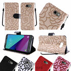 For Samsung Galaxy J3 Emerge Wallet Case Phone Cover ID Card Pocket Slot