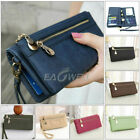 Women Lady Clutch Leather Wallet Long Card Holder Phone Bag Case Purse Handbag image