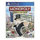 Monopoly Family Fun Pack (Sony PlayStation 4, 2014)