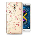 For Huawei Honor 6x (2016) Case Cover Soft TPU Rubber Slim Clear Patterned Skin