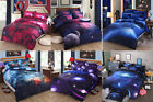3D Printed Bedding Set Duvet /Quilt Cover Mysterious Boundless Galaxy Bed sheet