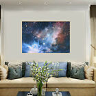 """43""""x24"""" Galaxy outer space View Nebula Art Silk Cloth Poster Kid Room Home Decor"""