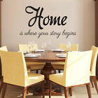 Wall Decals Quotes Home is where your story begins Phrase Home Design NS250