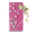 Lovely Stunning Case Jewelled Bling Wallet Stand Cases Cover /Nice case For SONY