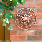 Large Classic Round Face Indoor/Outdoor ...