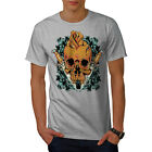 Skull Rose Knive Skull Men T-shirt S-5XL NEW | Wellcoda