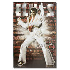 Elvis Presley Rock and Roll Music Star Silk Poster 12x18 inch