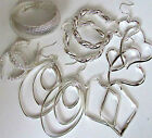 SELECTION OF STERLING SILVER HOOP EARRINGS YOU CHOOSE FAST UK DELIVERY