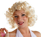 1950S FILM STAR BLONDE CURLY WIG HOLLYWOOD CELEBRITY FANCY DRESS COSTUME HAIR