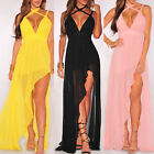 Ladies Women Summer Casual Bodycon Evening Party Cocktail Long Dress Playsuit