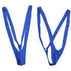 Men Borat Mankini Beach Swimming Swimwear Thong Suspender Underwear Bodysuit