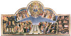 Angelico - The Last Judgement (1425) Art Canvas/Poster Print A3/A2/A1