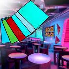 12V A5 Size EL Panel Electroluminescent Cuttable Light Inverter Paper Neon Sheet