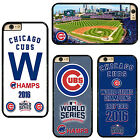 New Chicago Cubs World Series Champions Hard Phone Case Cover For iPhone Samsung