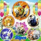 ZOOTOPIA BALLOONS Zoo Animals Disney Decor Shower Birthday Party Supplies lot A
