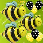 INSECTS & BUGS BALLOONS BEE BUTTERFLY Garden Decor Shower Birthday Party Supply