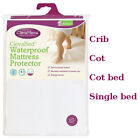 ClevaMama Waterproof Mattress Protector Crib Cot Bed Single Bed Toilet Training