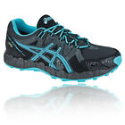 Asics Gel-Fujitrainer 2 Womens Blue Black Waterproof Running Shoes Trainers