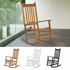 Wooden Rocking Chair Porch Rocker Balcony Deck Outdoor Garden Seat Living Room
