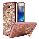 Shiny Slim Bling Glitter Soft Gel TPU Bumper Case Cover For Samsung Galaxy Phone