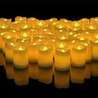 US Flameless Votive Candles Battery Operated Flickering LED Tea Light