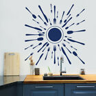 Kitchen Utensil Wall Decal Fork and Spoon Set Decal Kitchen Decor Sticker MA157