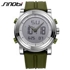 SINOBI Men's Sports Quartz Watch Wristwatch Man Military Watches Digital Pointer