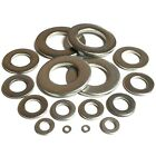 MARINE GRADE A4 316 Stainless FORM A Flat Washers Suited For Our Screws & Bolts