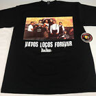 Vatos Locos Forever Blood In Blood Out Black Shirt L-3X One Deep Piranha Records