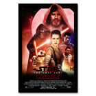 Star Wars Episode VIII The Last Jedi Movie Art Silk Poster 12x18 24x36 inch 02 $11.39 USD
