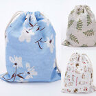 Fashion Unisex Floral Backpacks Womens Mens Bags Drawstring Backpack Flap Totes