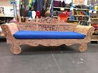 Bali Daybed Recycled Teak - white wash