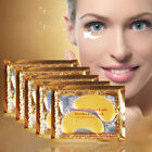 1/5/10 Pairs Gold Moisturizing Skin Care Gel Crystal Collagen EYE Masks