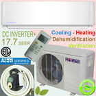 PIONEER 18000 BTU 18 SEER DC Inverter+ Ductless Mini Split Heat Pump System +Kit