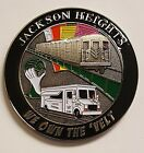 NYPD New York City Police Department Jackson Heights We Own The 'Velt