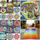 Boho Tapestry Beach Throw Towel Mandala Round Indian Hippie Picnic Blanket Mat