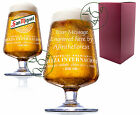 Personalised Engraved 1 Pint San Miguel Lager Chalice Glass Birthday Gift