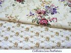 HOUSE OF THE SEVEN GABLES FABRIC~BY THE YD~VICTORIAN FLORAL~2 DESIGNS~FLOWERS