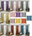 PLAIN TEXTURED LOOK THERMAL BACKED BLOCKOUT CURTAIN TAPE TOP PENCIL PLEAT MATRIX