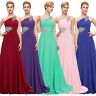 SEXY Chiffon Bridesmaid Evening Formal Gown Cocktail Party Homecoming Dress 2-16