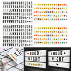 Letters Numbers Symbols A4 Cinematic Light Up Box Led Sign Wedding Party Plaque
