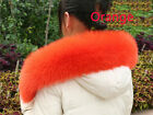 Winter fashion genuine fox fur wraps shawls winter warm fur scarf collars #C