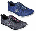 Womens Skechers Microburst-Fluctuate Sports Leisure Foam Trainers Sizes 4 to 8