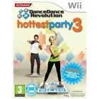 Dance Dance Revolution Hottest Party 3 Solus Game Wii Brand New