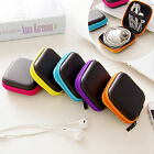 Mini Square Case Bag Pouch Storage Box For In-ear Headphones Headset Colorful
